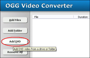 Click Add DVD
