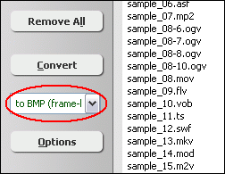 to BMP (image sequence)